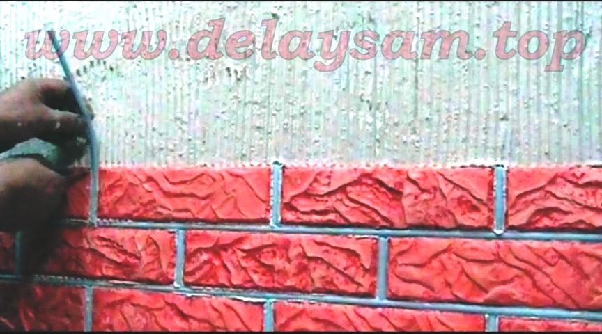 Сделать кирпичик на стену своими руками