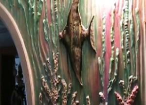 Декор пенопласт подводный мир.