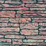 Dekor penoplast pod kameny.